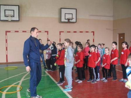Турнір між учнями 3-х класів
